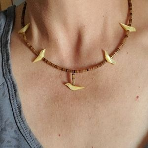Jewelry - Vintage Native  Fetish necklace set